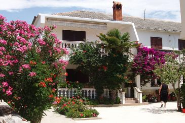 Property Povljana (Pag) - Accommodation 228 - Apartments with sandy beach.