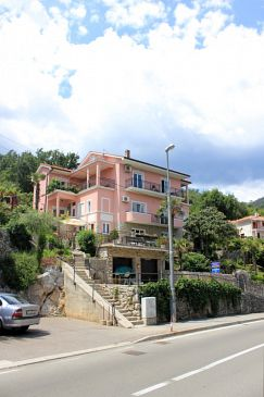 Property Medveja (Opatija) - Accommodation 2305 - Apartments and Rooms near sea with pebble beach.