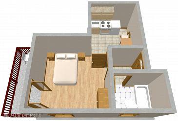 Studio flat AS-2307-a - Apartments Ičići (Opatija) - 2307