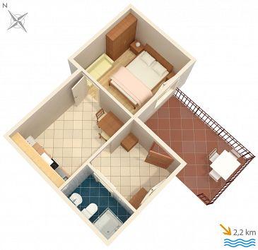 Apartament A-2315-b - Kwatery Ičići (Opatija) - 2315