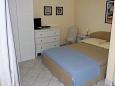 Ičići, Bedroom u smještaju tipa studio-apartment, dostupna klima i WIFI.
