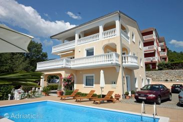 Ičići, Opatija, Property 2316 - Apartments with pebble beach.