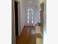 Rabac, Hallway u smještaju tipa apartment, dostupna klima i WIFI.