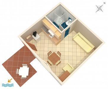 Studio AS-233-a - Apartamenty Povljana (Pag) - 233