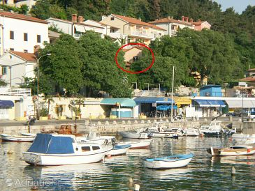 Property Rabac (Labin) - Accommodation 2330 - Apartments near sea with pebble beach.