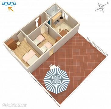 Apartment A-235-b - Apartments Stara Novalja (Pag) - 235