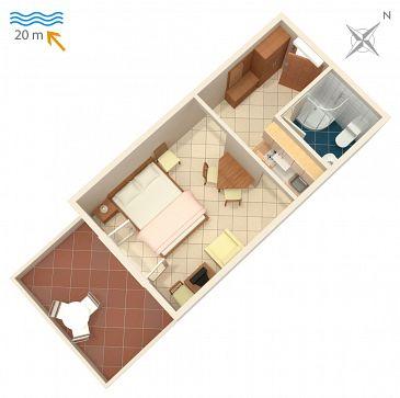 Studio flat AS-2354-a - Apartments Crikvenica (Crikvenica) - 2354