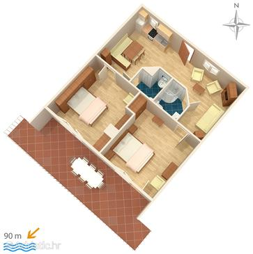 Apartment A-2356-a - Apartments Selce (Crikvenica) - 2356