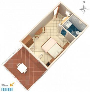 Studio flat AS-2356-a - Apartments Selce (Crikvenica) - 2356