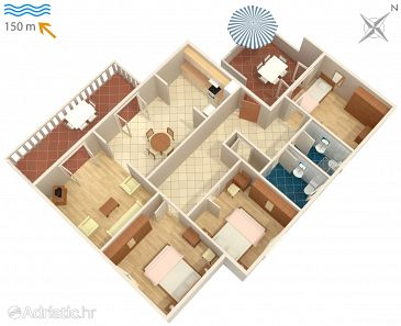 Apartment A-2358-a - Apartments Duga Luka (Prtlog) (Labin) - 2358