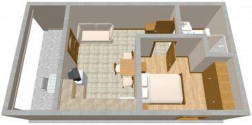 Apartament A-2370-b - Apartamenty Presika (Labin) - 2370