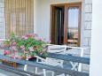 Jadranovo, Terrace u smještaju tipa apartment, s pogledom na more, dopusteni kucni ljubimci i WIFI.