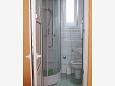 Novi Vinodolski, Bathroom u smještaju tipa studio-apartment, WIFI.