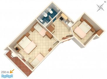 Apartament A-2383-b - Apartamenty Selce (Crikvenica) - 2383
