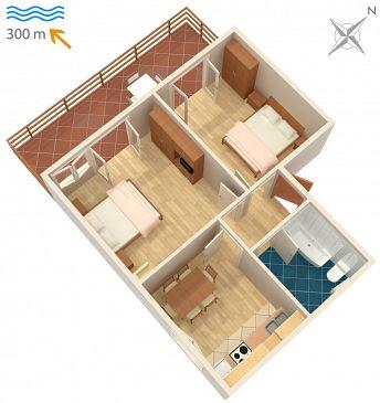 Apartment A-2386-c - Apartments and Rooms Dramalj (Crikvenica) - 2386