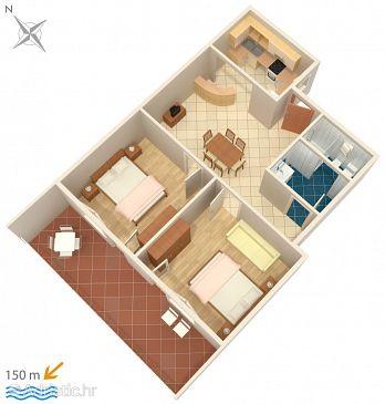 Apartment A-2387-a - Apartments Dramalj (Crikvenica) - 2387