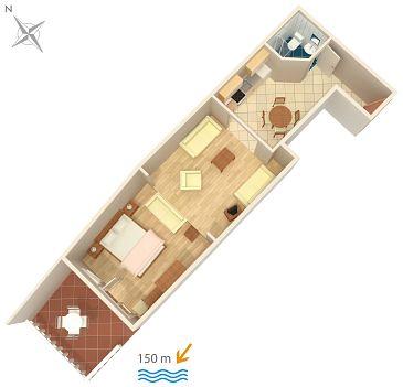Studio AS-2387-a - Apartamenty Dramalj (Crikvenica) - 2387