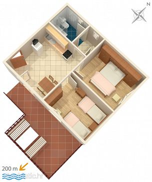 Apartment A-2395-a - Apartments Selce (Crikvenica) - 2395