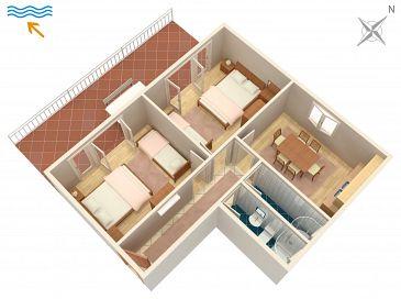 Apartment A-2399-a - Apartments Sveti Juraj (Senj) - 2399