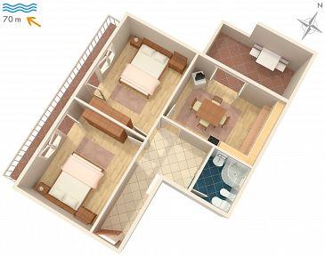 Apartament A-2399-b - Apartamenty Sveti Juraj (Senj) - 2399
