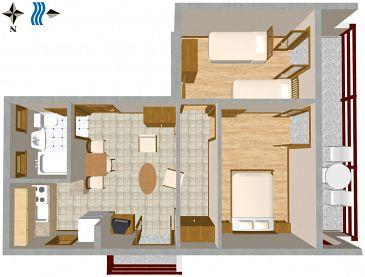 Apartment A-2402-a - Apartments Jadranovo (Crikvenica) - 2402