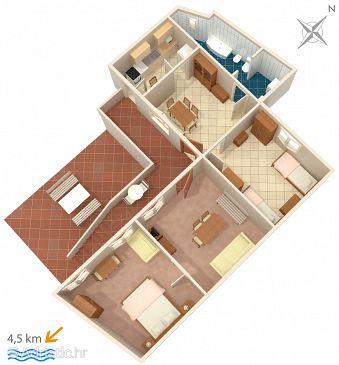 Apartment A-2405-a - Apartments Bribir (Novi Vinodolski) - 2405