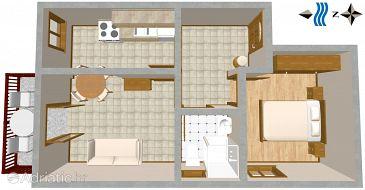 Apartment A-2406-b - Apartments Okrug Gornji (Čiovo) - 2406