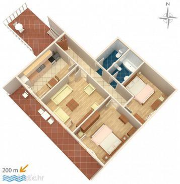 Apartment A-2423-a - Apartments Novi Vinodolski (Novi Vinodolski) - 2423