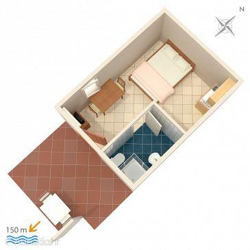 Studio flat AS-2470-b - Apartments Vis (Vis) - 2470