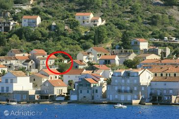 Property Vis (Vis) - Accommodation 2476 - Apartments with pebble beach.