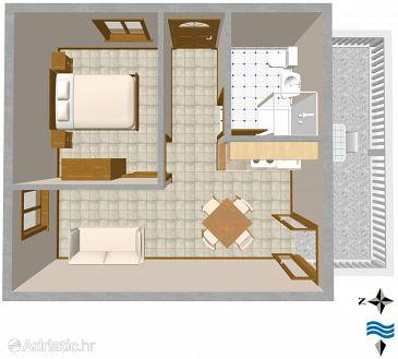Apartment A-2478-b - Apartments Rukavac (Vis) - 2478