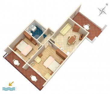 Apartment A-2494-a - Apartments Mali Lošinj (Lošinj) - 2494