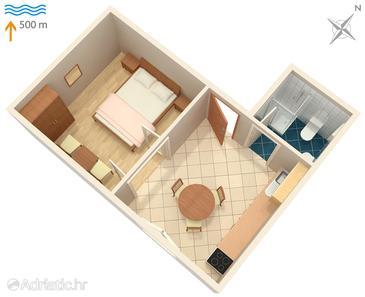 Apartment A-2495-a - Apartments and Rooms Mali Lošinj (Lošinj) - 2495