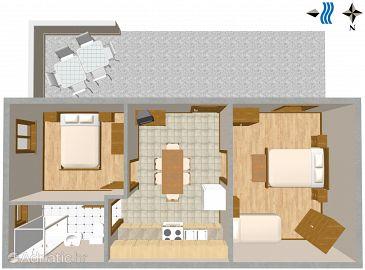 Apartment A-2500-a - Apartments Mali Lošinj (Lošinj) - 2500