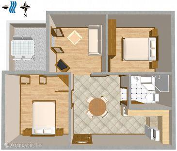 Apartment A-2505-a - Apartments Mali Lošinj (Lošinj) - 2505