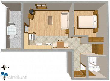 Apartment A-2505-b - Apartments Mali Lošinj (Lošinj) - 2505