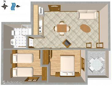 Apartment A-2505-c - Apartments Mali Lošinj (Lošinj) - 2505