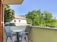 Balcony - Room S-2506-a - Apartments and Rooms Nerezine (Lošinj) - 2506