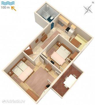 Artatore, Plan u smještaju tipa apartment, dopusteni kucni ljubimci i WIFI.