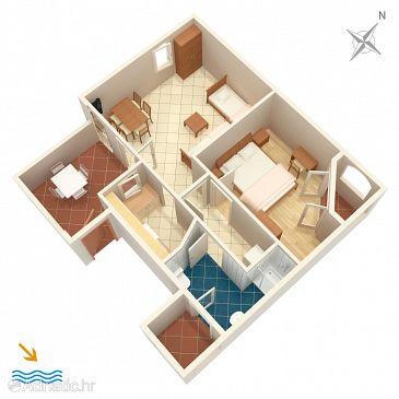 Apartment A-2516-a - Apartments Nerezine (Lošinj) - 2516