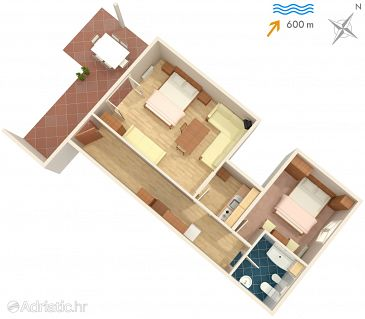 Apartment A-2525-a - Apartments Umag (Umag) - 2525