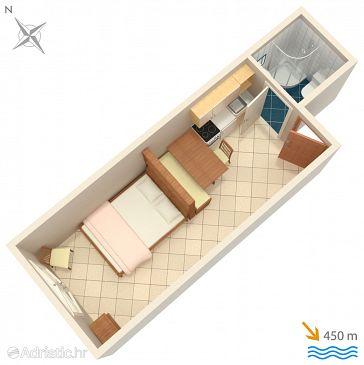 Studio flat AS-2551-a - Apartments Novigrad (Novigrad) - 2551