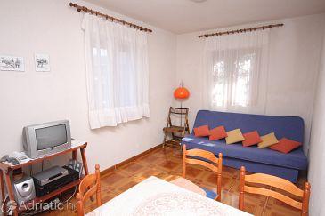 Slatine, Living room u smještaju tipa apartment, dostupna klima, dopusteni kucni ljubimci i WIFI.