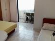 Bedroom - Studio flat AS-2575-g - Apartments Podaca (Makarska) - 2575