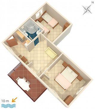 Apartament A-2583-a - Apartamenty Uvala Jedra (Hvar) - 2583