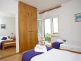 Bedroom 1 - Apartment A-2588-b - Apartments Promajna (Makarska) - 2588