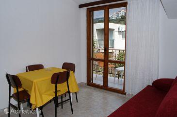 Podgora, Dining room u smještaju tipa apartment, WIFI.