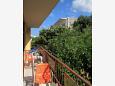 Balcony 1 - Apartment A-2595-e - Apartments Podgora (Makarska) - 2595