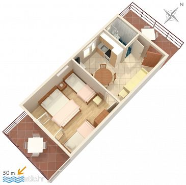 Apartment A-260-c - Apartments Viganj (Pelješac) - 260