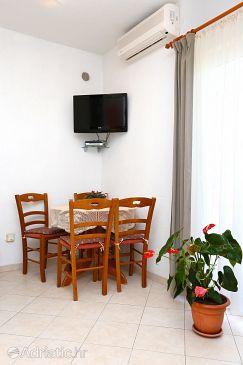 Promajna, Dining room u smještaju tipa apartment, dostupna klima i WIFI.